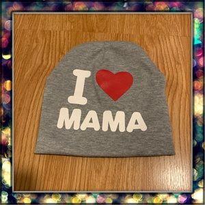 I ❤️ Mama kids beanie